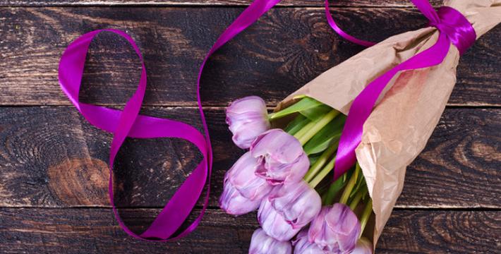Дорогие, милые женщины –  с праздником 8 Марта!