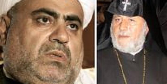 Встреча духовных лидеров Азербайджана и Армении возможна только на границе двух стран