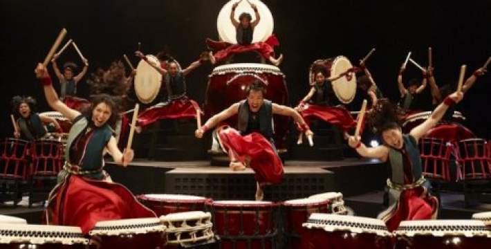 Юбилейное шоу японских барабанщиков «YAMATO» — ROJYOH («В дороге»)