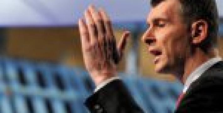 Прохоров предложил властям «взять тайм-аут» и отложить введение антитабачного закона