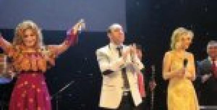 Концерт азербайджанской певицы в Москве