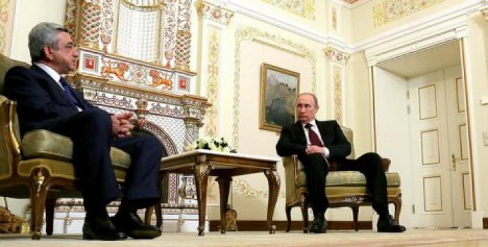 Визит президента Армении в Москву: о чем договорились Путин и Саргсян?