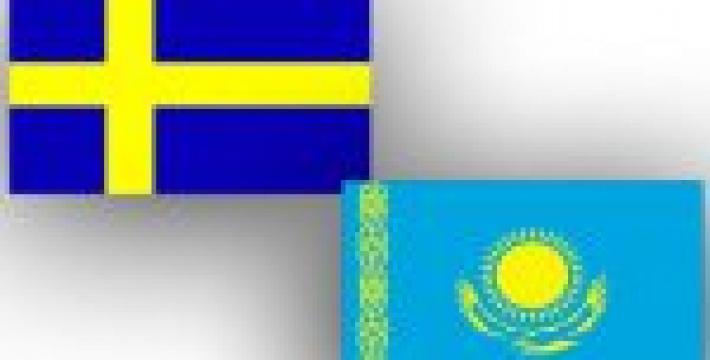 Главы МИД Казахстана и Швеции обсудили сотрудничество между странами