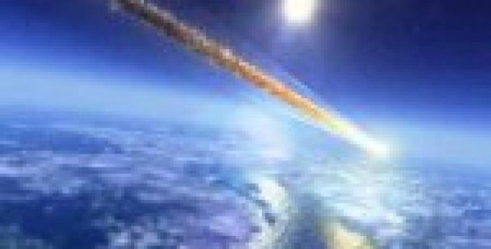 Над США пролетел метеорит
