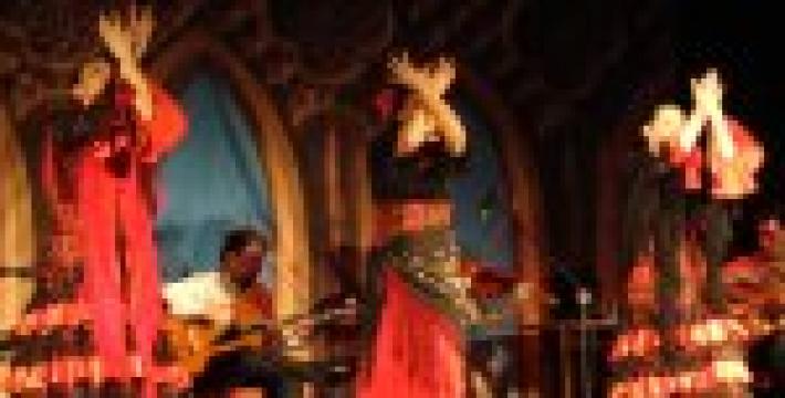 «Encantados» очаровали зрителей шоу фламенко