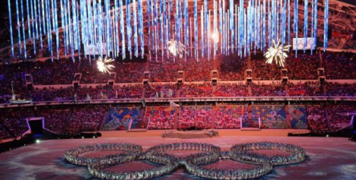 В Сочи прошла церемония закрытия XXII зимних олимпийских Игр