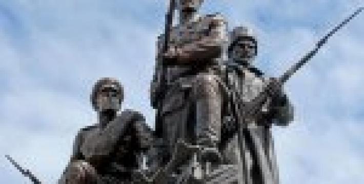 В Калининградской области увековечили память погибших в Первой мировой войне