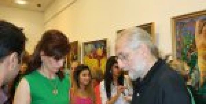 В Москве состоялась презентация выставки азербайджанских художников «Хары бюльбюль — цветок мира и любви»