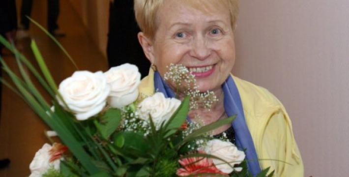 Композитор Александра Пахмутова отмечает свой 85-летний юбилей