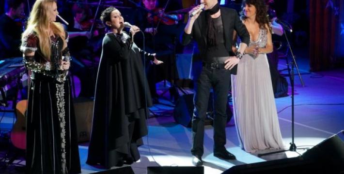 Шоу «Голоса любви» в новом музыкальном проекте Майкла Найта