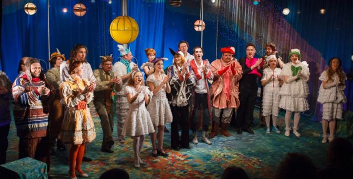 В театре «Модернъ» двойной праздник
