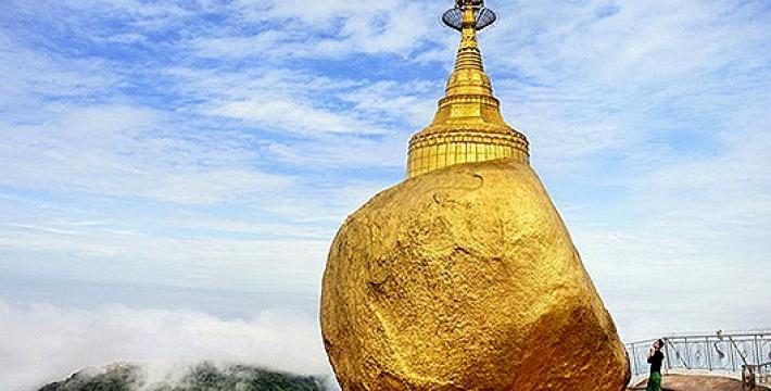 Золотой камень Мьянмы