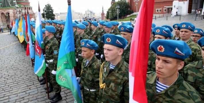 В Москве отметили День Илии Пророка и 85-ю годовщину Воздушно-десантных войск