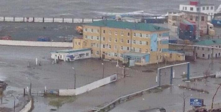 Сахалин накрыл мощный циклон
