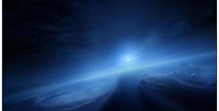 NASA опубликовало фото голубого неба на Плутоне