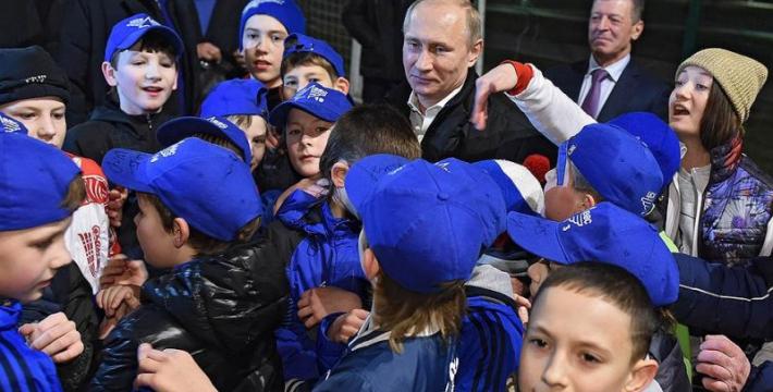 В России создали аналог пионерского движения