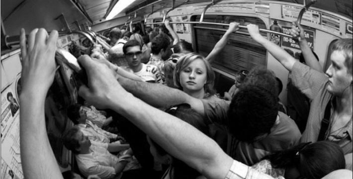 «Толкучка» в общественном транспорте оказалась полезной для здоровья