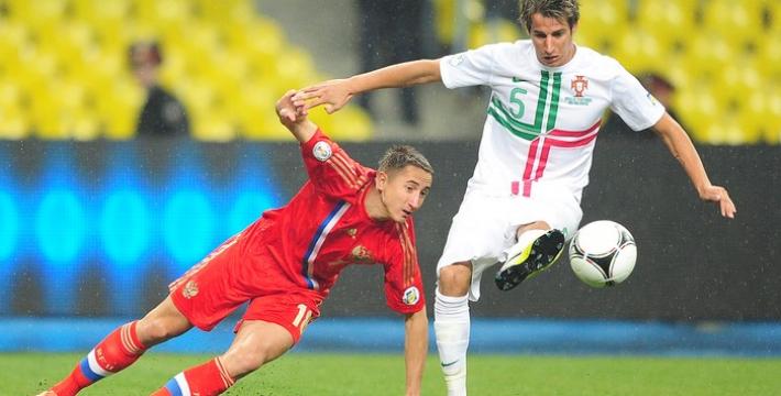 Сборная России начала подготовку к матчу с Португалией