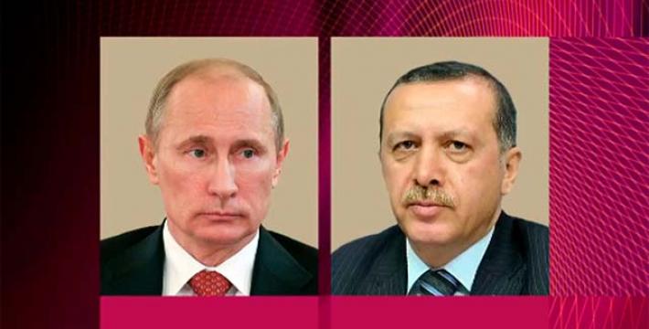 Эрдоган готов встретиться с Путиным «в самое ближайшее время»