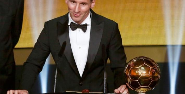 Лионель Месси стал пятикратным обладателем «Золотого мяча»