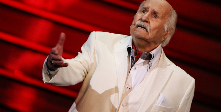 Владимир Зельдин отпразднует 101-й день рождения на сцене цатра