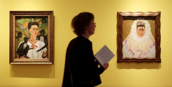 Сегодня в Санкт-Петербурге открывается выставка работ Фриды Кало