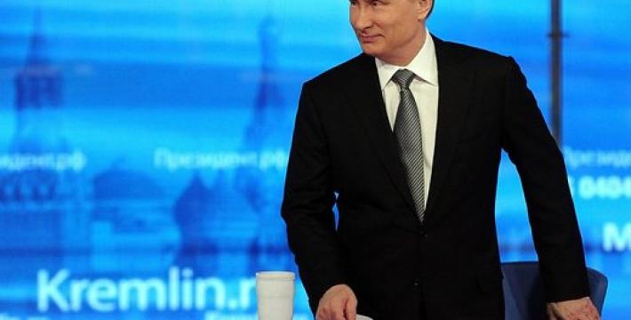 Путин назвал вредной монополию в информационной сфере