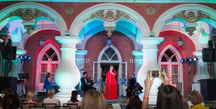 Оперные вечера под открытым небом в Москве