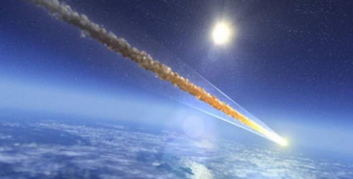 Над Кипром взорвался метеорит