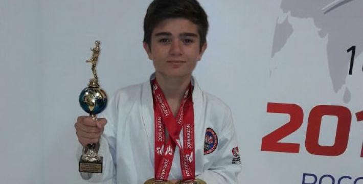 Гамид Мирзоев: Сын стал двукратным чемпионом мира и обладателем Кубка абсолютного чемпиона мира