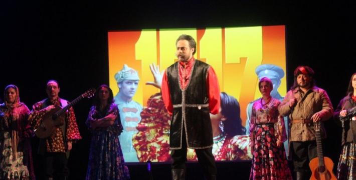 О духовном объединении и любви к родине — в «Ромэне» в «Ночь в театре»<