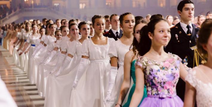 В Москве 11 декабря пройдет III Международный Кремлевский Кадетский Бал