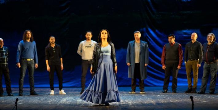 Премьера «Грушенька» в Московском музыкально-драматическом цыганском театре «Ромэн»