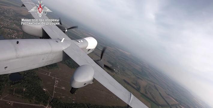 Беспилотный летательный аппарат «Альтиус-У» совершил первый полет