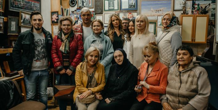 В благовещенском музее Александра Тихомирова