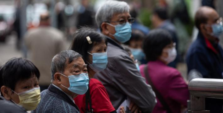 В Китае количество жертв коронавируса выросло до 722 человек
