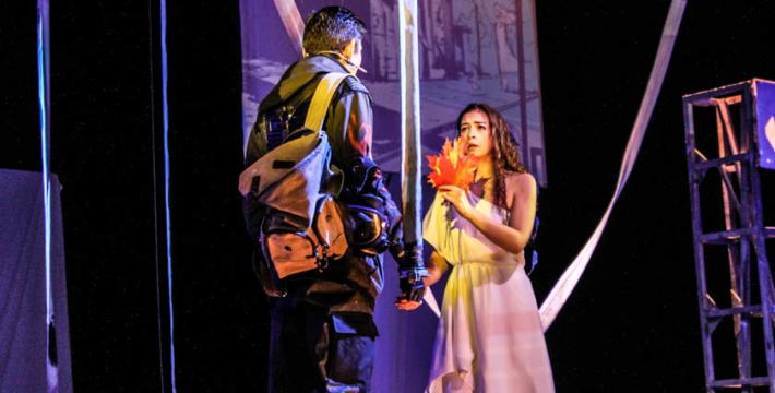 «451 градус по Фаренгейту» в молодежном театре Спесивцева