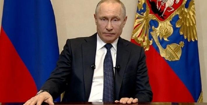 Путин обратился к россиянам по ситуации с коронавирусом