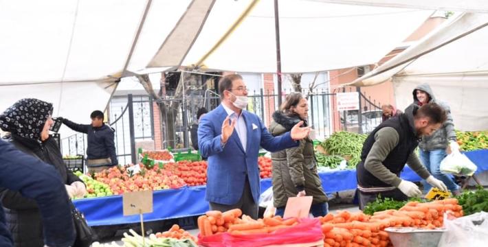 Али Кылыдж – мэр района Стамбула: все сотрудники мобилизованы для борьбы с пандемией коронавируса