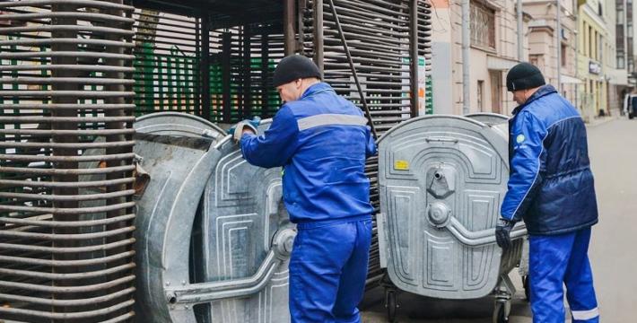 Мусорные контейнеры в связи с коронавирусом будут вывозить чаще