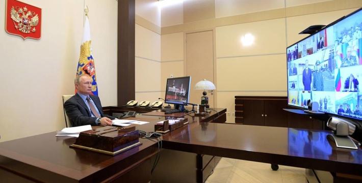 Путин заявил, что проблема распространения коронавируса уходит из Москвы в другие регионы