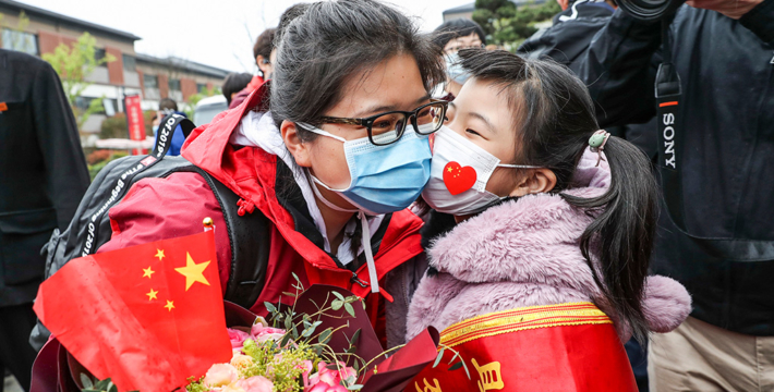 Как Китай выходит из-под карантина