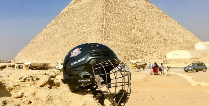 В Египте могут провести хоккейный матч на фоне пирамид