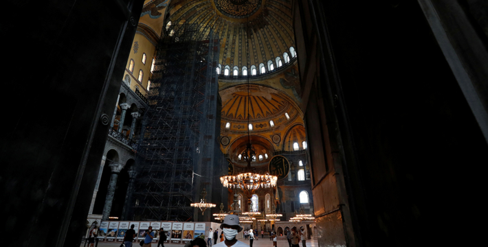 Поклонение мусульман в соборе Святой Софии начнется с 24 июля