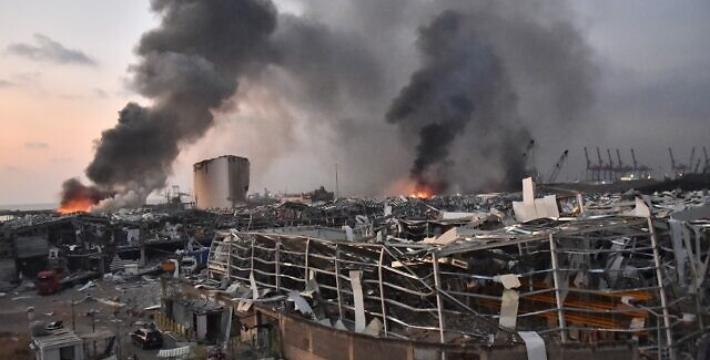 Мощный взрыв вБейруте: появились новые подробности