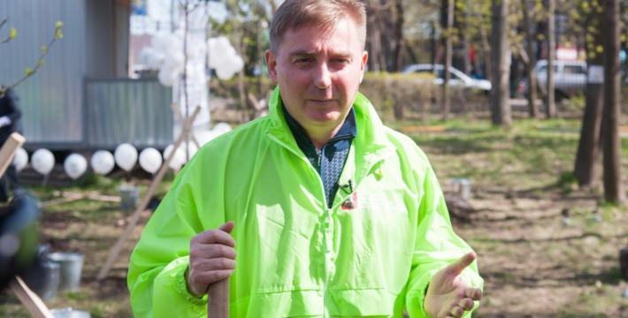 Главный эколог Москвы Антон Кульбачевский поздравил москвичей с Днем города