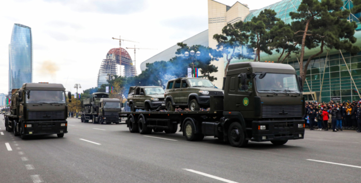 Парад Победы в Баку