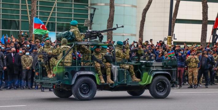 В Баку прошел парад, посвященный Победе в Отечественной войне