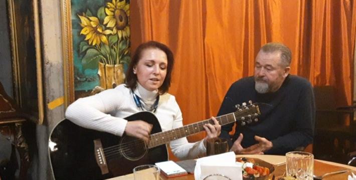 Вечер романса и шансона в Штабе московских татар