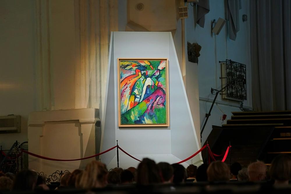 Два Кандинских оказались на одной сцене в Кафедральном соборе Калининграда